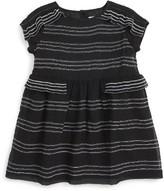 Burberry Infant Girl's Freja Stripe Silk Dress