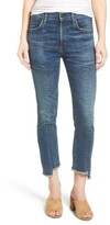 Citizens of Humanity Women's Amari Step Hem Ankle Jeans