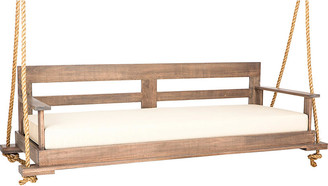 """Southern Komfort Bed Swings Porch Swing - Weathered Brown/Cream - 93.0""""w"""