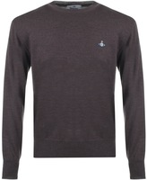 Vivienne Westwood Crew Neck Jumper Brown