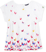 Tommy Hilfiger Butterfly-Print Top, Big Girls (7-16)
