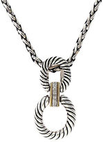 Effy Balissima 18K Yellow Gold and Sterling Silver Pendant Necklace with Diamond Accents