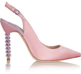 Sophia Webster Tyra Satin Pumps - Pastel pink