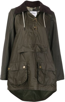 Barbour x Alexa Chung oversized waxed jacket