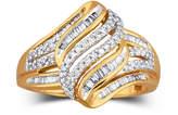 JCPenney FINE JEWELRY Diamond Ring 1/2 CT. T.W. 10K Gold