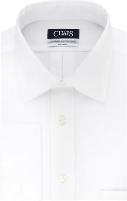 Chaps Men's Regular-Fit Stretch Collar French Cuff Dress Shirt