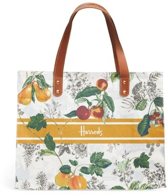 Harrods Winter Fruit Grocery Shopper Bag