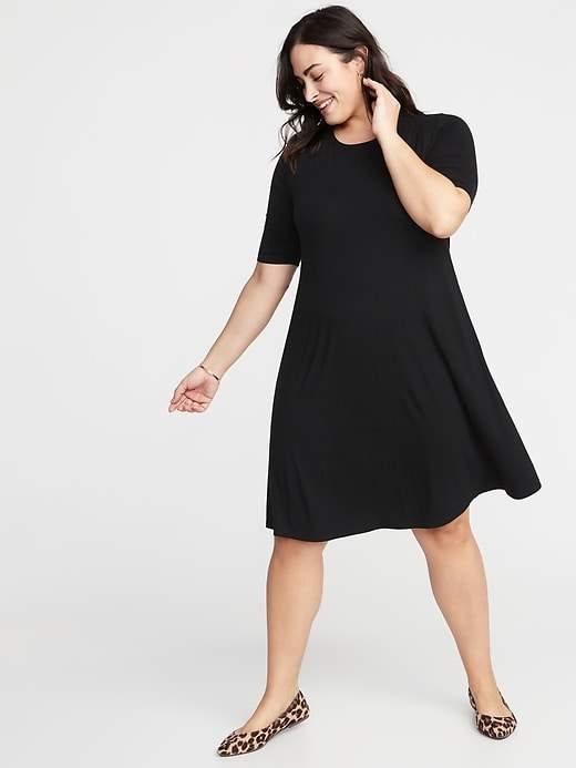 2ea6cbb7f01 Old Navy Black Plus Size Dresses on Sale - ShopStyle