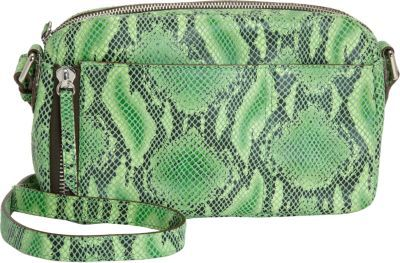 Gryson OH by Joy Snakeskin-Stamped Top Zip Crossbody Bag