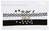 Charlotte Russe Cancer Choker Necklaces & Earrings Set