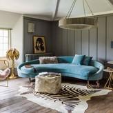 Graham and Green Tiffany Curved Sofa