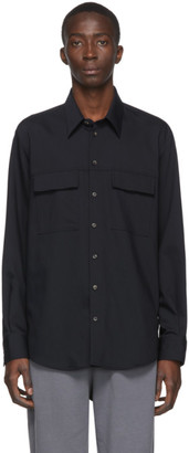 Joseph Navy Norman Shirt