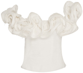 Brock Collection Theresa Off the Shoulder Linen Top