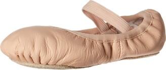 Bloch Dance Girl's Belle Full-Sole Leather Ballet Slipper/Shoe