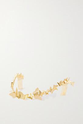 LELET NY Gold-tone Headpiece - one size
