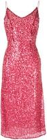 Sequin-Embellished Slip Dress