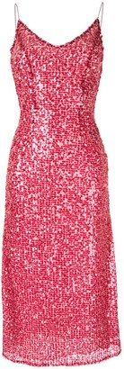 Walk Of Shame sequin-embellished slip dress