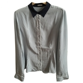 Miu Miu Grey Silk Top