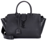 Saint Laurent Downtown Cabas leather tote
