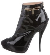 Viktor & Rolf Patent Leather Ankle Boots w/ Tags