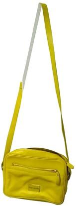 Guy Laroche Yellow Fur Handbags