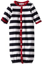 Coccoli Baby-Boys Newborn Summer By The Sea Boys Striped Converter Gown