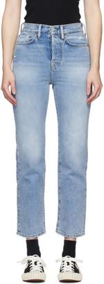 Acne Studios Blue Bla Konst Mece Trash Jeans