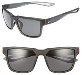 Nike Fleet 55Mm Sport Sunglasses - Matte Anthracite