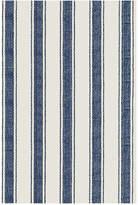 Dash & Albert Blue Awning Stripe Rug - 61x91cm