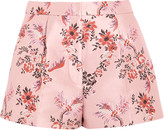 Stella McCartney Floral-jacquard shorts