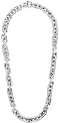 Bottega Veneta Silver Large Chain Necklace