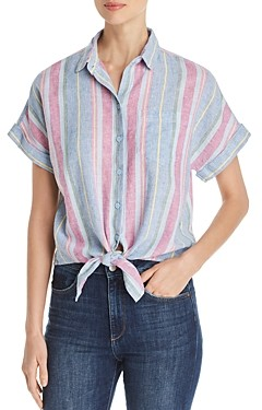 BeachLunchLounge Tie-Front Shirt
