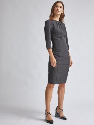 Dorothy Perkins High Neck Dress - Black