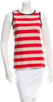 Derek Lam 10 Crosby Striped Sleeveless Top