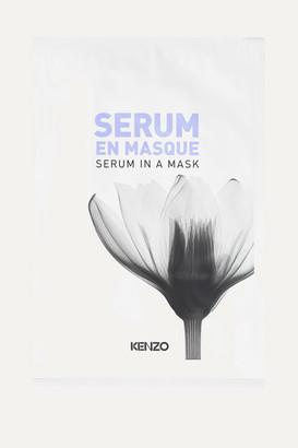 Kenzoki Serum In A Mask, 3 X 12ml - Colorless