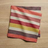 Crate & Barrel Garner Stripe Dinner Napkin