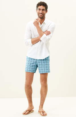 Vilebrequin Caroubie Slim Fit Linen Shirt