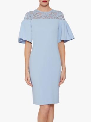 Gina Bacconi Boriana Moss Dress