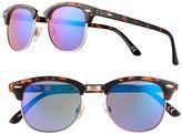 Women's SO® Semirimless Retro Sunglasses
