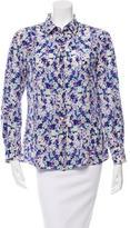 Dolce & Gabbana Floral Print Button-Up Top