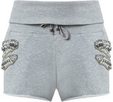 Andrea Bogosian - track shorts - women - Cotton/Polyester - G