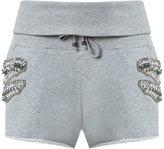 Andrea Bogosian - track shorts - women - Cotton/Polyester - P