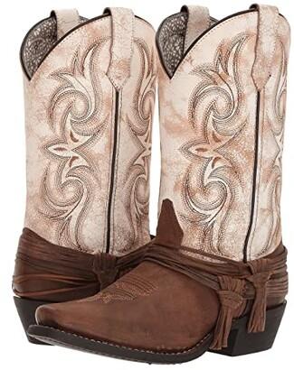 Laredo Myra (Sand/White) Cowboy Boots