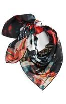 Kenzo Women's Flower Print Silk Scarf