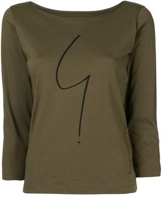 agnès b. logo print T-shirt