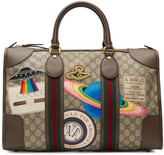 Gucci Brown GG Supreme Courrier Tote