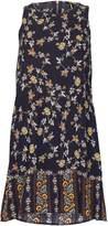 Izabel London Floral Print Shift Dress