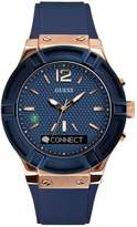 GUESS CONNECT Smartwatch in Blue 45mm