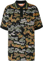 Outsource Images floral print polo top