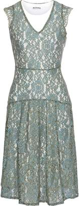 Walter W118 By Baker Vanya Layered Corded Lace And Jersey Dress